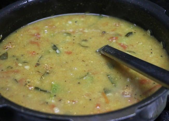 tiffin sambar step 13