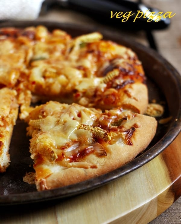 veggie pizza recipe