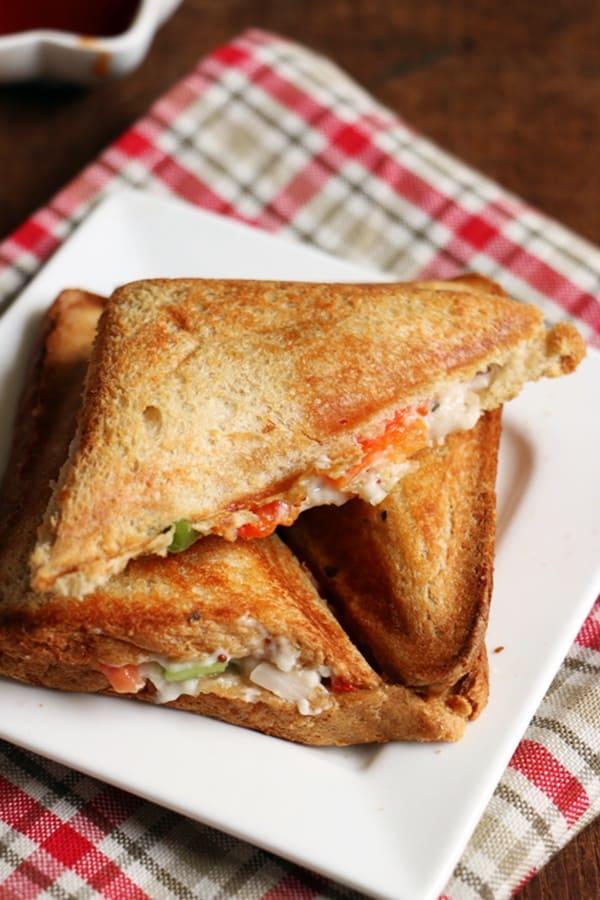 vegetable mayonnaise sandwich recipe