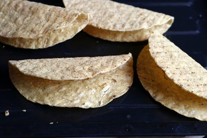 dried taco shells