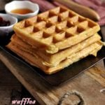 eggless waffles recipe