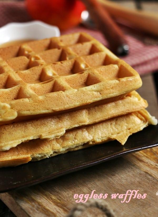 Eggfree Waffle Recipe