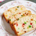 tutti frutti cake recipe | eggless vanilla cake recipe with tutti frutti