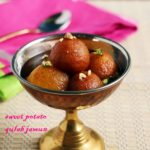 Sweet potato gulab jamun r