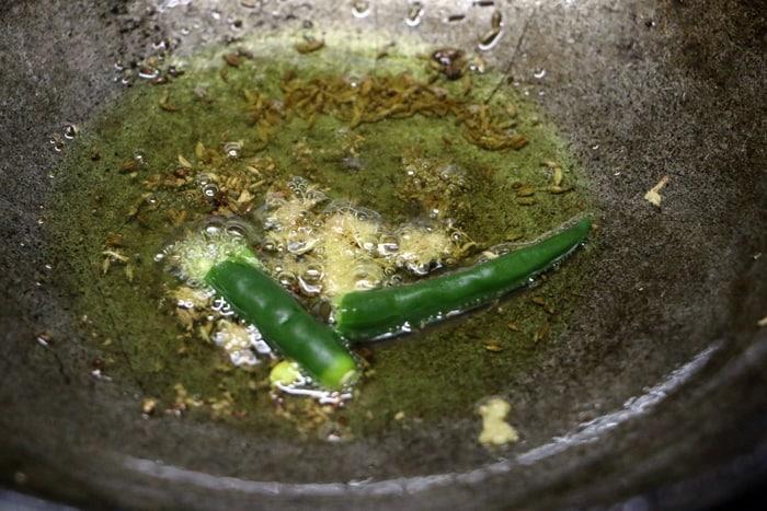 Making cauliflower rice recipe