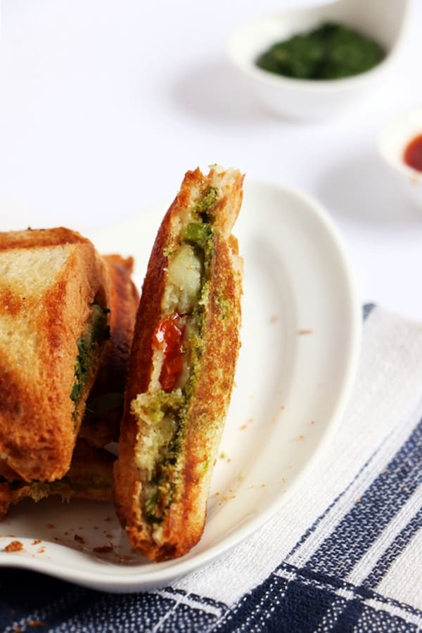 masala toast recipe d