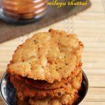 milagu thattai recipe