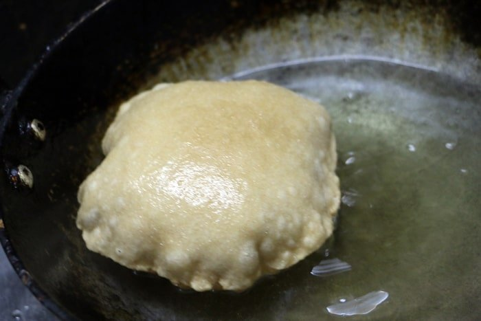 frying poori,puri recipe