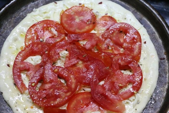 tomato pizza step 3