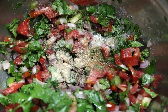 seasoning tomato salsa