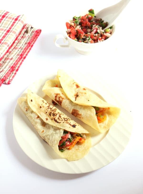 vegetarian fajita recipe