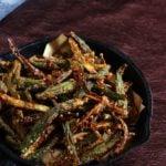 Punjabi kurkuri bhindi recipe