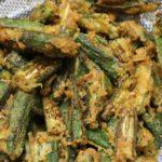 bhindi fry step 5