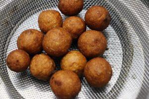 deep fried bread gulab jamun
