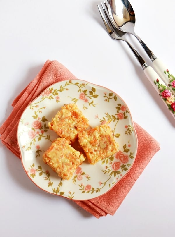carrot kalakand recipe a