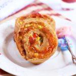 Pizza pinwheels recipe | easy snack recipes