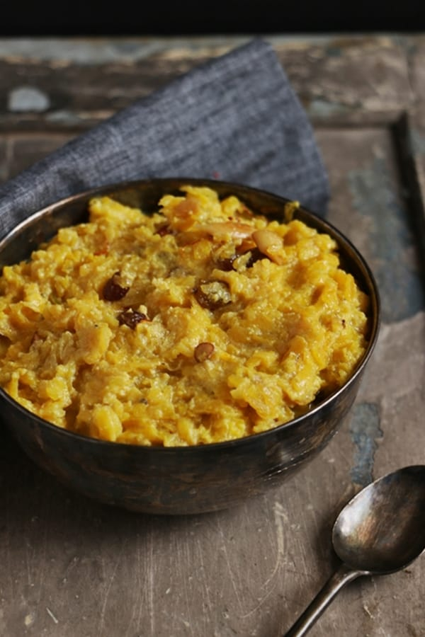 sweet pumpkin halwa