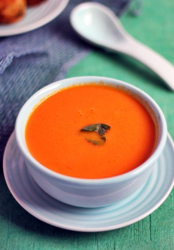 carrot tomato soup recipe