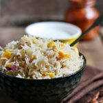 Corn Pulao Recipe | Sweet Corn Rice Pulao Recipe