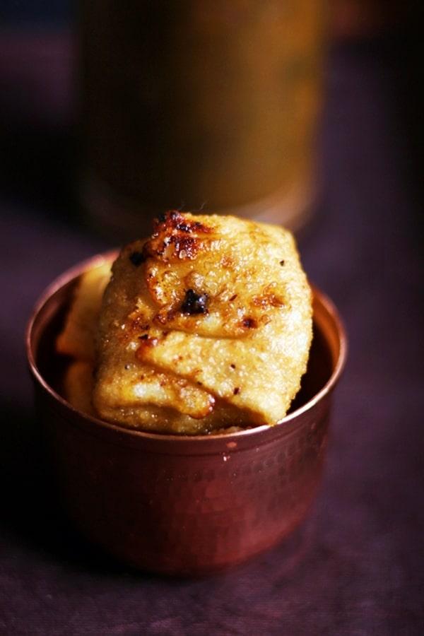 Lavang lata served for dessert
