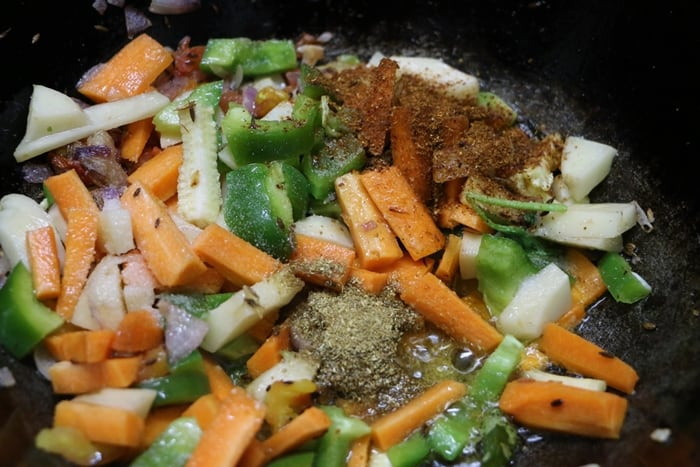 seasoning mix veg recipe