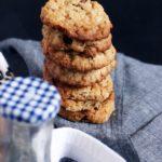 Oats cookies recipe | Eggless oats raisin cookies