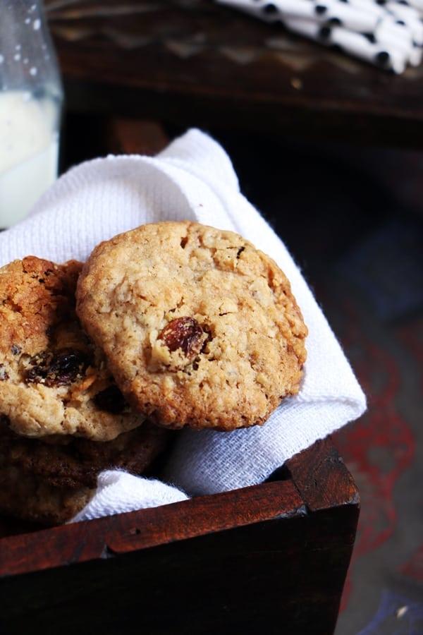 oats raisin cookies recipe d