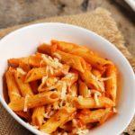 Penne arrabbiata recipe | pasta in arrabbiata sauce recipe