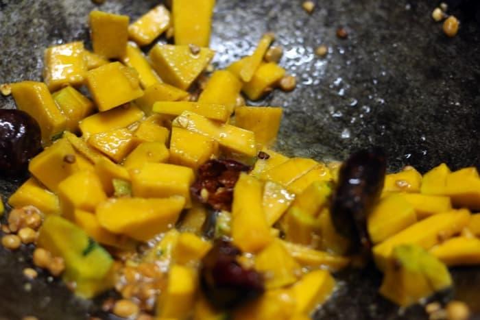 pumpkin chutney step 2