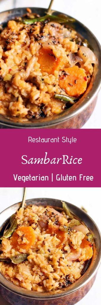 sambar rice recipe