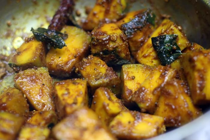 pumpkin sambar step 4