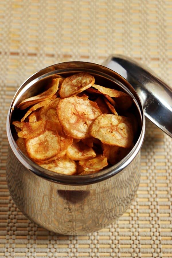 raw banana chips recipe a