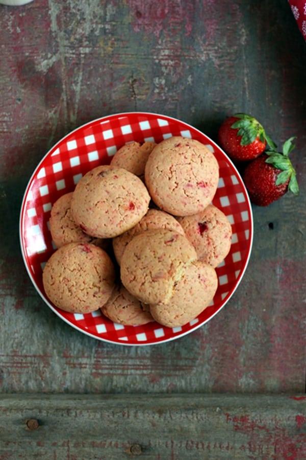 strawberry cookies recipe