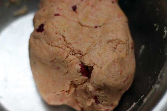 strawberry cookies step 3