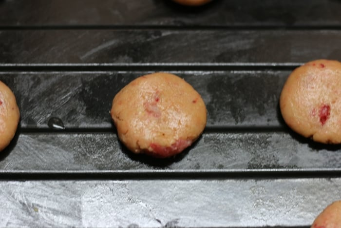 strawberry cookies step 4