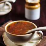veg clear soup recipe