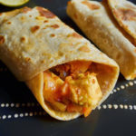 Vegetables kathi roll