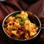 capsicum cauliflower masala recipe