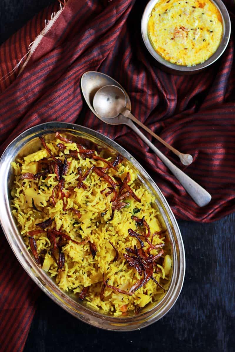 tahiri vegetarian recipe