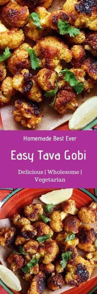 Tava gobi recipe