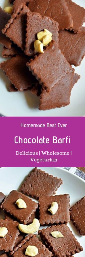 quick and easy chocolate burfi
