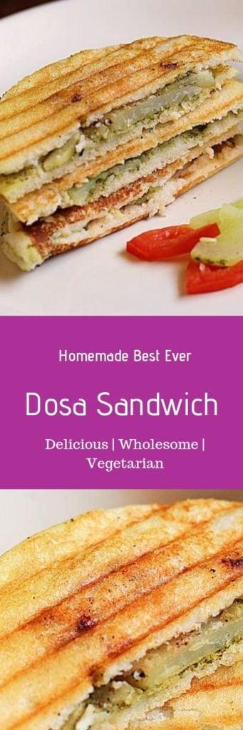 Dosa sandwich recipe
