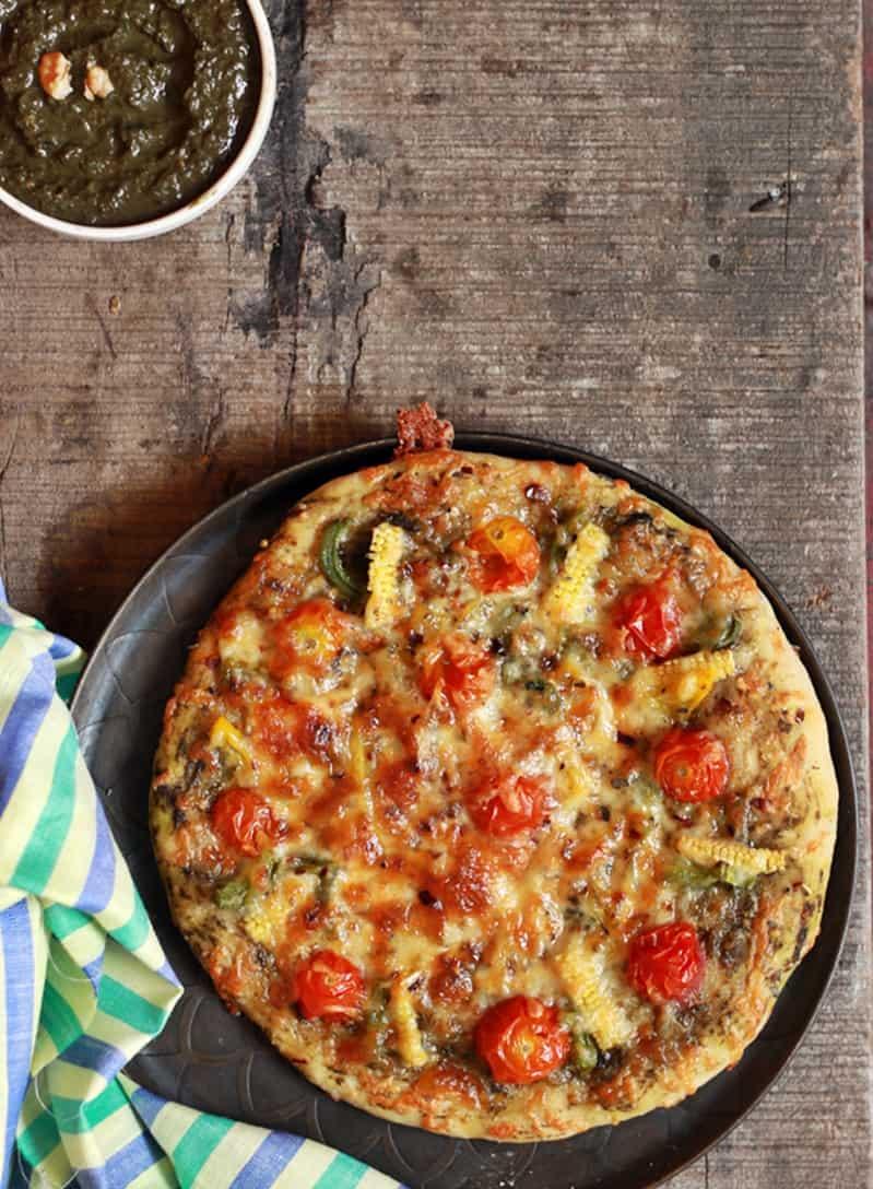 pesto pizza recipe