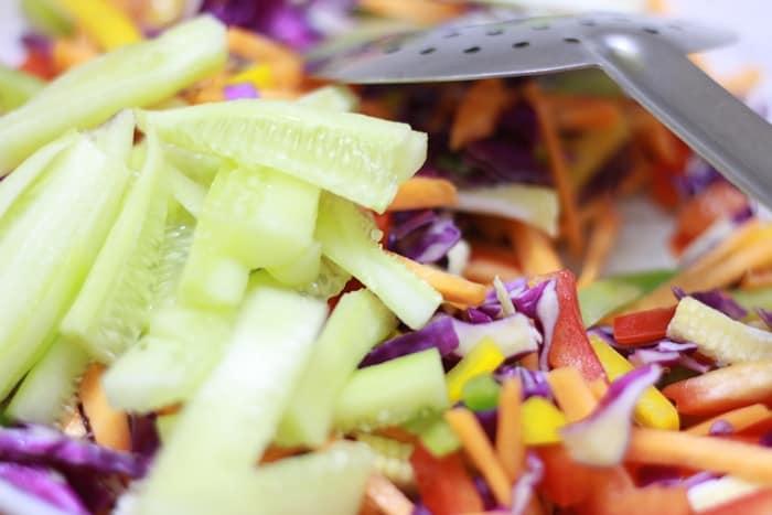 veg crisp salad step 2