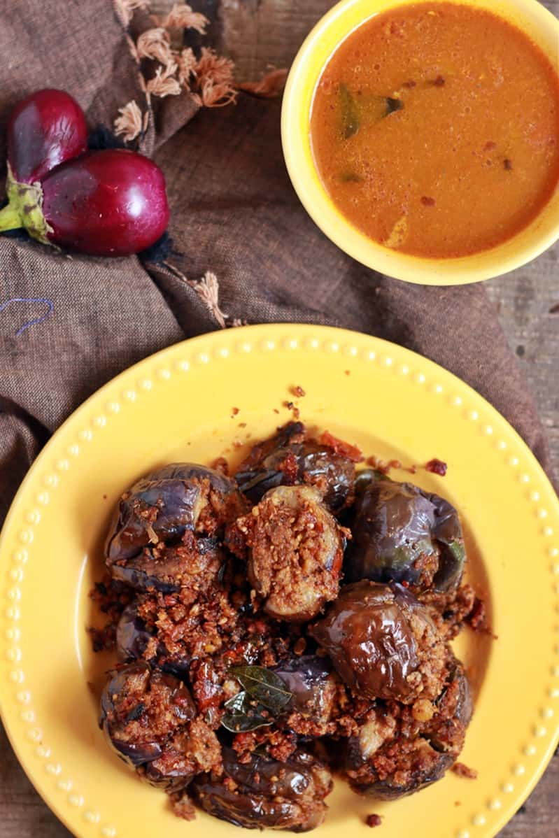 stuffed eggplant curry recipe