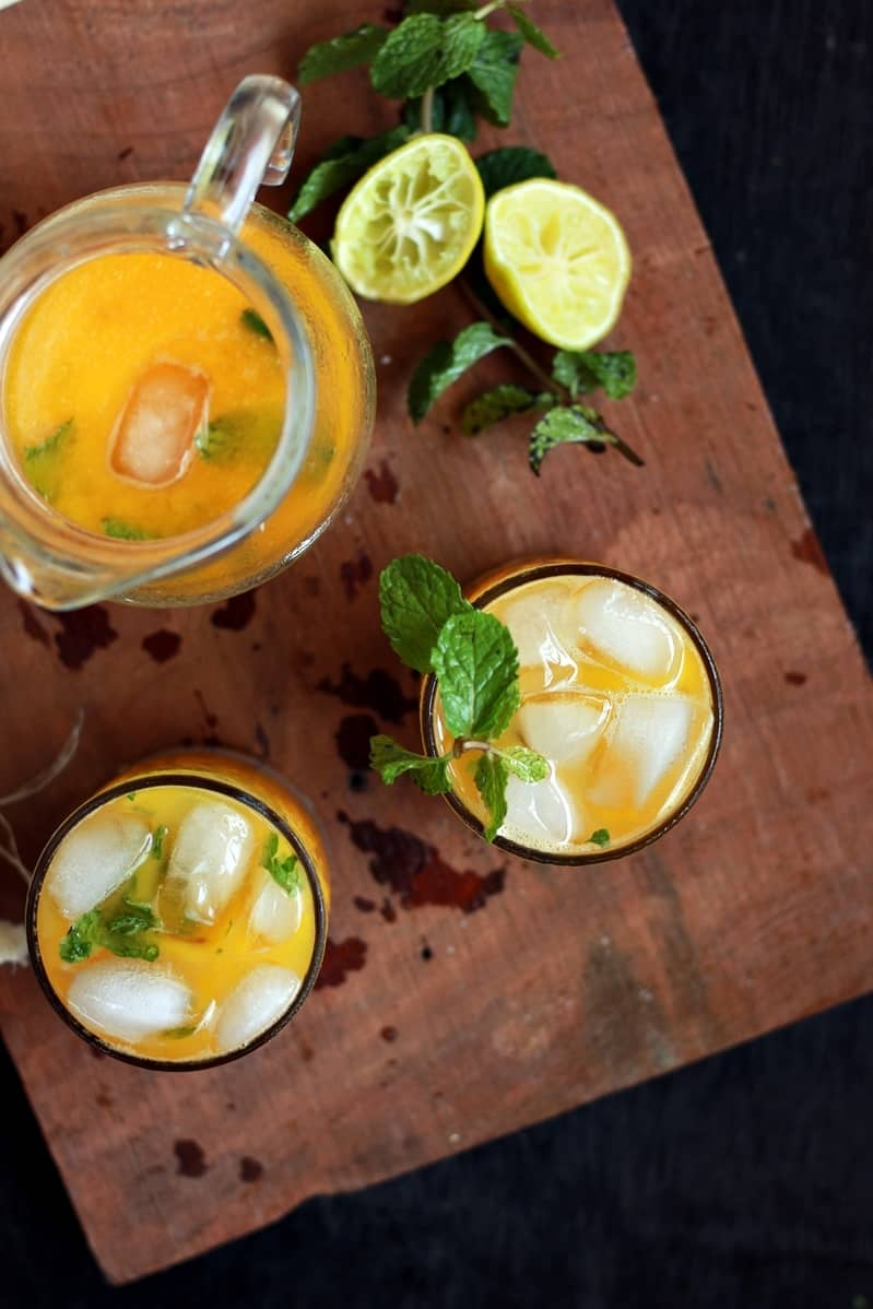 mango mojito mocktail recipe