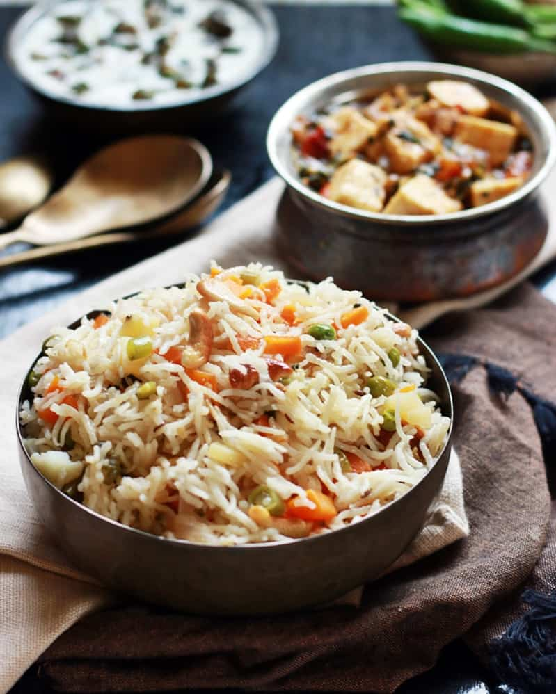 vegetable pulao recipe g