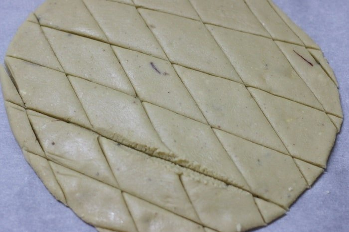 making kaju katli recipe
