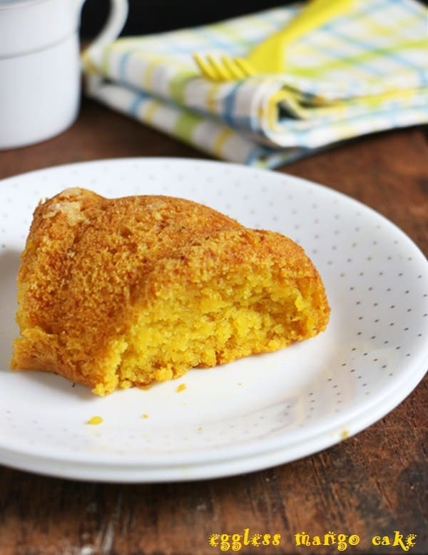 vegan mang cake-mango recipes