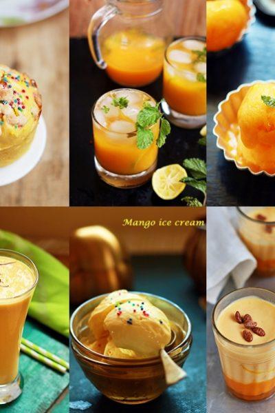 Mango recipes collection